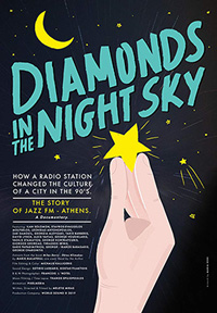 Diamonds In The Night Sky Poster