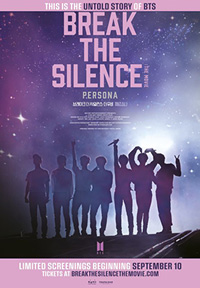 Break The Silence: The Movie Poster